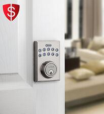 Digital Deadbolt Electronic Keyless Entry Lock Keypad Security Code Door Safety
