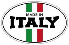 Made in Italy Sticker FIAT 500 Punto Stilo ARBATH 100xx65mm