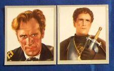 Luis Trenker 1937 Monopol Künstler im Film Film Star Cigarette Card Lot of 2