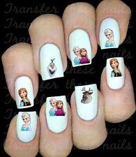 FROZEN La reine des neiges Stickers autocollant ongles manucure nail art déco