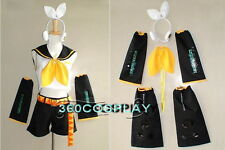 VOCALOID 2 Rin Kagamine COSPLAY COSTUME CUSTOM-MADE