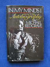 In My MInd's I: An Actor's Autobiography by MICHALE REDGRAVE - SIGNED by Him