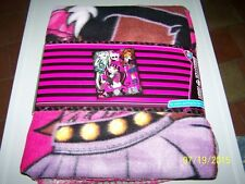 MONSTER HIGH - PLAID POLAIRE   NEUF