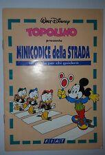 Allegato Topolino Disney - Minicodice della Strada