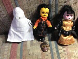Living Dead Dolls Minis 3 Items Variant Mishka, Isabelle & Eleanor