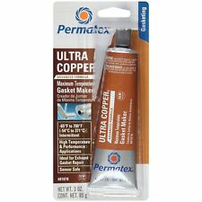 Exhaust Manifold and Header Gasket Maker Sealer RTV ULTRA COPPER PERMATEX 3.0oz
