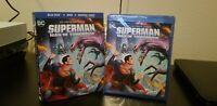 DC Universe Movie Superman Man of Tomorrow (Blu-ray/DVD, 2020) Fast Shipping