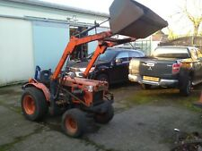 Kubota compact 4wd tractor loader