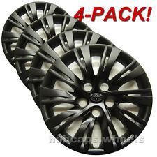 Toyota Camry 2012-2014 Hubcaps - Genuine OEM + Custom Black Matte Paint (4-Pack)