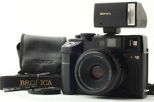 【 N MINT+++ 】 Bronica RF645 + Zenzanon RF 65mm f/4 Lens , RF20 Flash from JAPAN