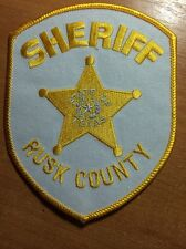 PATCH  POLICE SHERIFF RUSK COUNTY TEXAS TX