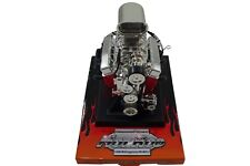 Chevy Small Block 350 SBC Scoop V8 Model Engine Diecast 1:6 Scale Motor Replica