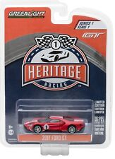 1:64 GreenLight *Ford Gt Racing Heritage* 2017 Ford Gt *1967 Tribute Red #1*