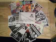 16 carte postale Bilal Pratt Franquin Hergé Moebius Roba Gotlib Forest Tardi