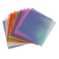 50Sheet Glitter Cardstock Paper Pearlescent Shimmer Paper for Scrapbooking DIY