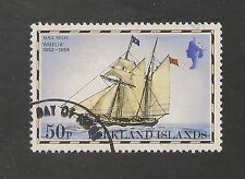 Falkland Islands #272 VF USED First Day Cancellation 1978 50p Amelia Mail Ship