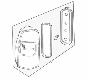 Genuine GM Tail Lamp Assembly 19206745