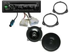 Dacia Dokker ab 2012 Autoradio Lautsprecher Komplett Einbau Set CD MP3 Kenwood