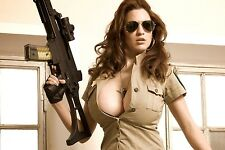 20 PHOTOS sexy girls on ARMY MILITARY 20 Photos 10 x 15 cm Naked hot