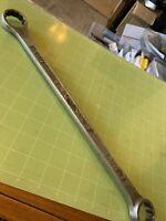 "Vintage PLVMB Plumb Plomb pebble 1150 Double Box Wrench 1-1/8"" - 1-1/16"" 12pt"