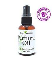 Gardenia & Rosemary - Premium Fragrance /Perfume Oil - 2oz - Made w/Organic Oils