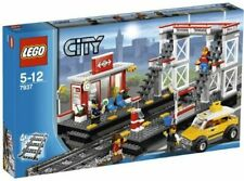 LEGO City Train Station (7937) + 2 Sets Switch Tracks (7895) - New in Box