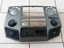 12 Ford F-250 Super Duty dash trim radio bezel w/trailer brake controller