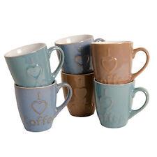 Kaffeetassen & -becher im Shabby-Stil mit Herzen