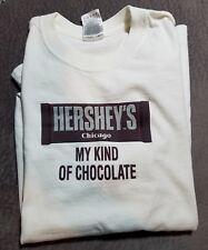 HERSHEY'S MILK CHOCOLATE CHICAGO T SHIRT M MEDIUM WORKS MACHINE