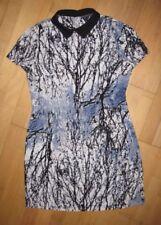 Robe Business Casual hiver femme taille 12/L NEUF Blanc Bleu Noir