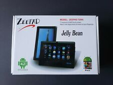 Zeepad Android Jelly Bean Black Tablet Wi-Fi 4.2 4GB
