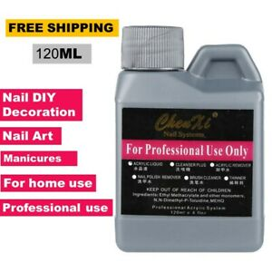 120 ML Monomer Crystal Acrylic Liquid For Manicure Nail Art carving,dipping