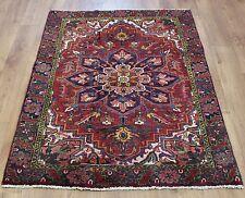 Persian Traditional Vintage Wool 160cmX105cm Oriental Rug Handmade Carpet Rugs