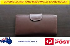 Unisex Light Weight Stylish Genuine Leather Business Wallet Card Holder Gift