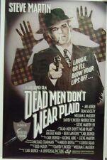Dead Men Don't Wear Plaid Original 1982 Single Sided Movie Poster Steve Martin