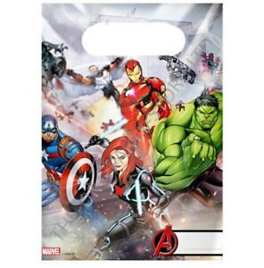 MARVEL AVENGERS PARTY LOOT BAGS Birthday Party Supplies Boys Girls Gift Favour