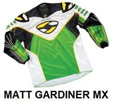 Alloy MX Motocross Moto Jersey y camisa 04 sx verde / blanco/Negro/Amarillo XXL