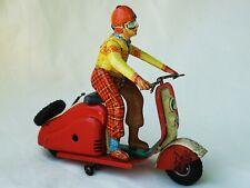 Göso Vespa Lambretta Scooter Tin Toy Very Rare !!!