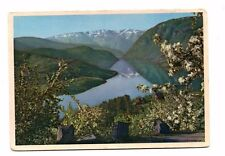 Norway - Ulvik, Hardanger Fjord - Postcard Franked 1965