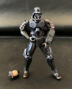 """Jin-Roh: The Wolf Brigade Protect Gear 5"""" Action Figure Xebec Toys Kaiyodo"""
