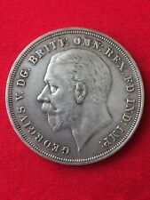1935 GREAT BRITAIN SILVER CROWN KING GEORGE V
