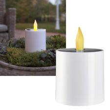 Solar LED Kerze mit Dämmerungssensor für Außen Solarkerzen Garten-Kerze Outdoor