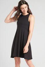 Athleta Santorini Thera Dress Black NWT $89 MT Medium Tall