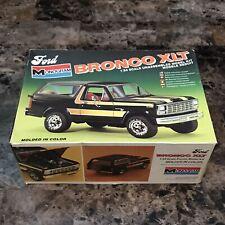 1981 Monogram 1/24 Ford Bronco XLT 2271