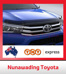 GENUINE TOYOTA HILUX BONNET PROTECTOR TINTED NON FACELIFT MODELS FROM 7/2015 ON