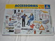 Italeri #764 1/24 - Vintage - 40 Truck Accessories - Accessoires camions - NIB