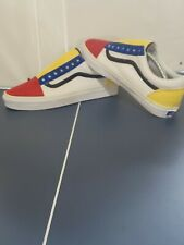 "Custom Vans Old Skool - ""Color Block"" (Men's Size 10)"