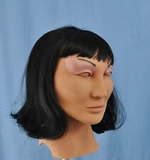 Female Mask Ana Diva Latex Cosplay Masks! With Wig