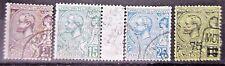 MONACO petit nombre de earlyish timbres. Utilisé.