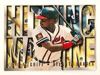 Fred McGriff #8 (1995 Fleer Ultra) Hitting Machine Insert, Atlanta Braves